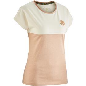 Edelrid Angama Naiset Lyhythihainen paita , beige